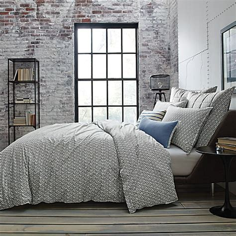 kenneth cole duvet cover kenneth cole new york escape reversible duvet cover in