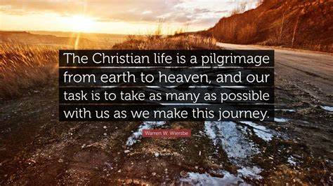 warren  wiersbe quote  christian life