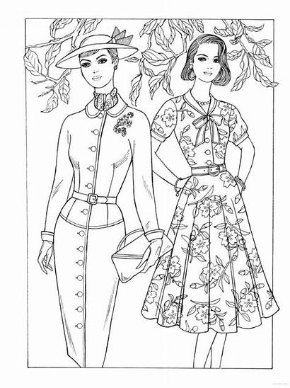 Coloring Pages 1950s Historical Books Printable Creative