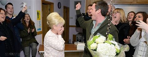 EastEnders cast and crew celebrate Barbara Windsor | ATV Today