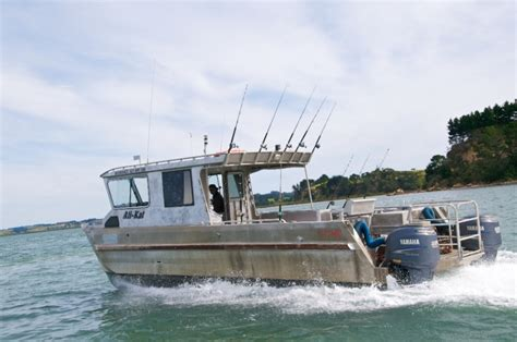 Wellington Harbour Boat Fishing Spots by Ali Kat Charter Boat Kaipara Harbour 33ft Alloy