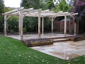 wooden pergola with glass roof uk decor references