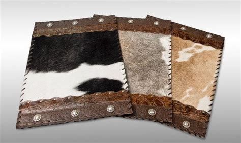 Cowhide Placemats by Cowhide Placemats Set Of 8 By Cowhidemirrors On Etsy 360