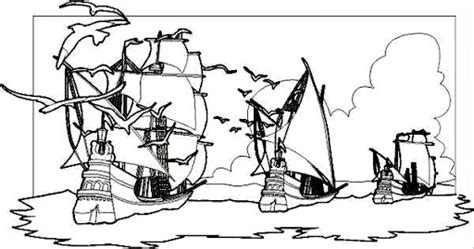 Barcos De Cristobal Colon Dibujos by Pin Barcos Dibujos Para Colorear Cristobal Colon Las