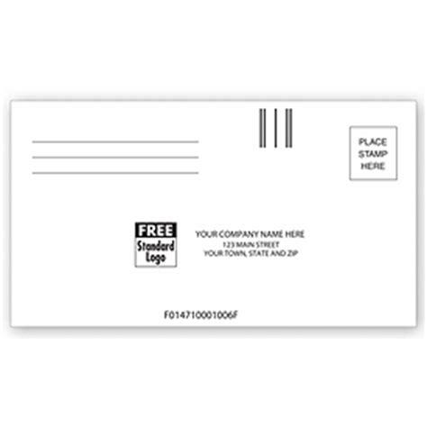 business envelopes custom printed   courtesy reply