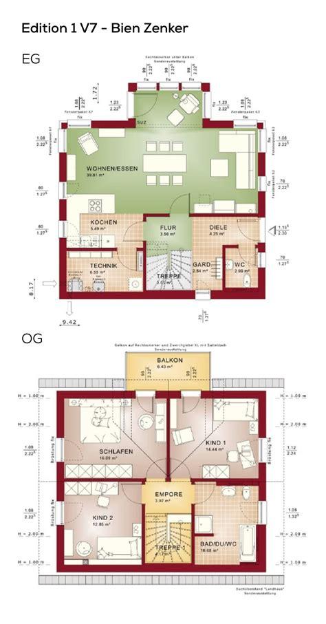Grundrisse Efh Ohne Keller by Grundrisse Einfamilienhaus Mit Satteldach Architektur 4