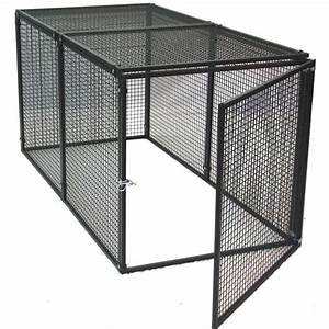 shop options plus 6 ft x 3 ft x 3 ft outdoor dog kennel With lowes outdoor dog pens