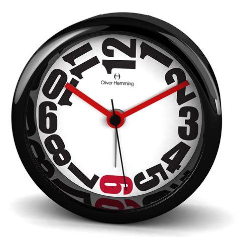 design alarm clock oliver hemming acrylic contemporary design alarm