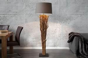 Luminaire En Bois Flotté : diy fabriquer un lampadaire en bois flott ~ Teatrodelosmanantiales.com Idées de Décoration