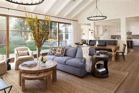 Rustic Modern Chic Living Room Archdsgn