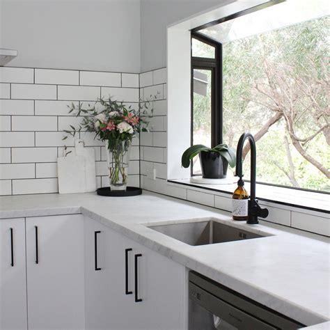 Spruce up your kitchen cabinet hardware with unique handles and knobs. OUR KITCHEN RENO | Beau Monde Mama in 2020 | Kitchen handles, Cottage kitchen design, Black ...
