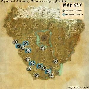 Elder Scrolls Online Cyrodiil Aldmeri Skyshard Guides