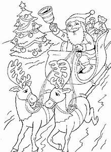 Weihnachten Schlitten Malvorlagen Malvorlagen1001de