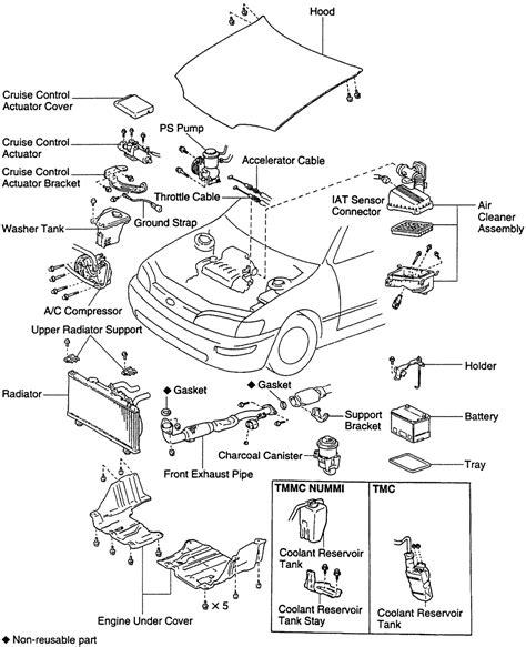 2008 Corolla Engine Diagram by Repair Guides