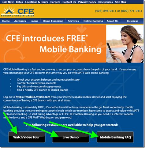 cfe phone number mobile banking launch at cfe credit union includes quot live