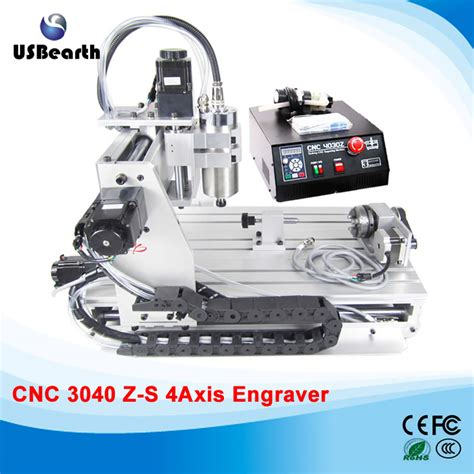 buy mini cnc 3040 1 5kw engraving machine 4 axis drilling milling metal plastic and wood at
