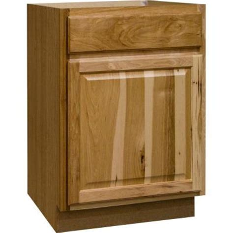 home depot hickory base cabinets hton bay 24x34 5x24 in hton base cabinet with ball