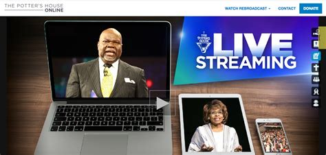 td jakes potters house the potter s house live