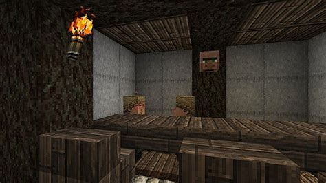 villager life survival map minecraft project