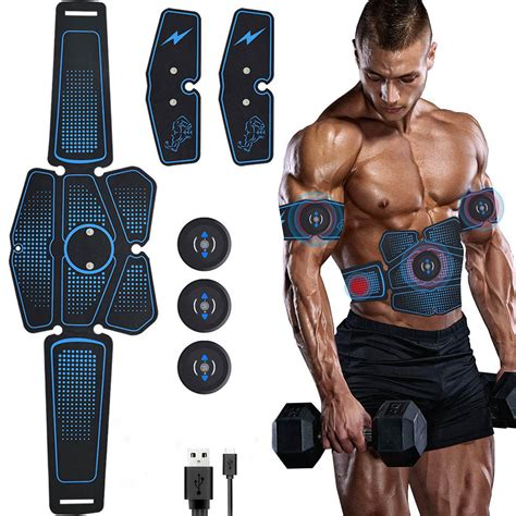 Abdominal Muscle Stimulator Trainer EMS Abs Fitness