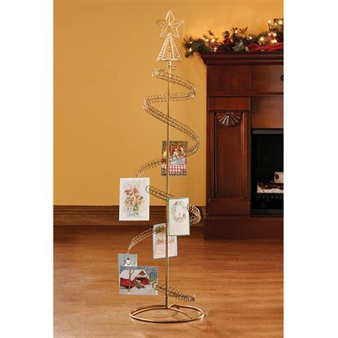 christmas card display holder spiral tree card holder christmas card tree holder walter drake