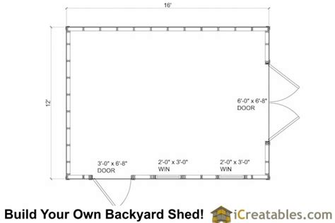 10x16 shed floor plans 10x16 cape cod style shed plans icreatables