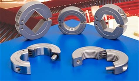 hinged shaft collars design engineering