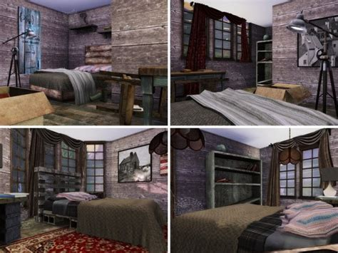 sims resource abandoned house  mychqqq sims