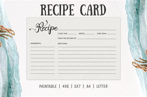 recipe card template free cooking recipe card template rc2 creativetacos
