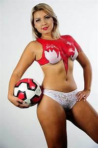 Fifa Body Paint Girls 2014
