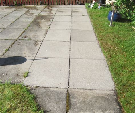 clean moss algae lichens patios slabs pavers drives