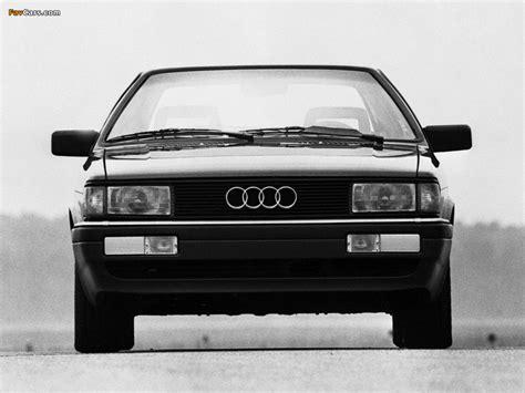Audi Coupe Gt Us Spec 81 85 1985 87 Pictures 1024x768 Gt