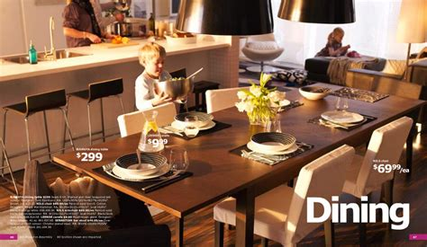 Dining Room Furniture Ikea by Ikea 2011 Catalog