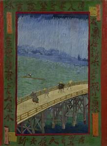 Bridge in the Rain (after Hiroshige) - Van Gogh Museum