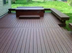 installing trex decking northwest decks composite deck installation