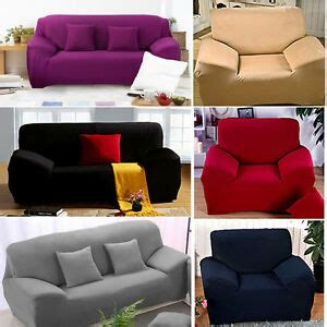 Sofa With Washable Covers by 1 2 3 4 Seater Sofa Slipcover Stretch Protector