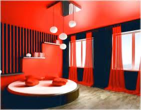 Red Paint Bedroom Ideas