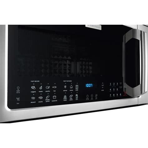 eibmms electrolux  cu ft   range microwave