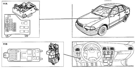 volvo   owners manual shows  fuse boxes