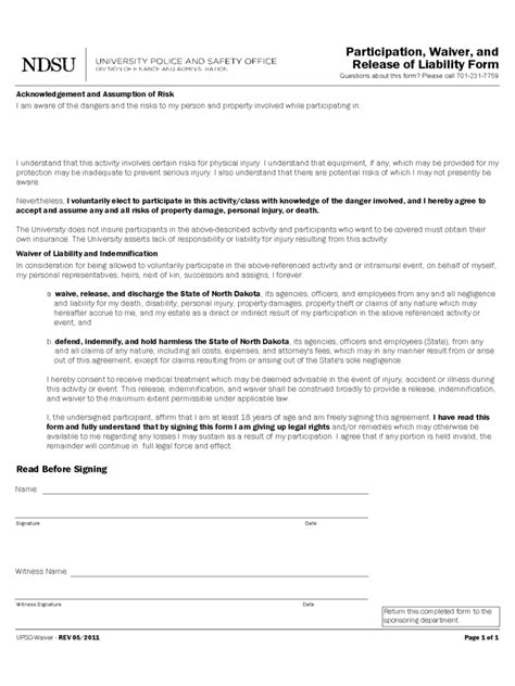 Volunteer Waiver Form Template by Volunteer Waiver Form Template Related Keywords