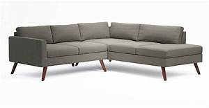 Corner sectional sofa dane corner sectional sofa with per for Buchannan faux leather corner sectional sofa chestnut