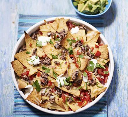 lighter nachos recipe bbc good food