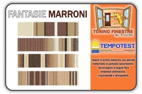 Tende Da Sole Tempotest Catalogo Tessuti Tempotest In Acrilico Marroni Tende Da Sole Torino