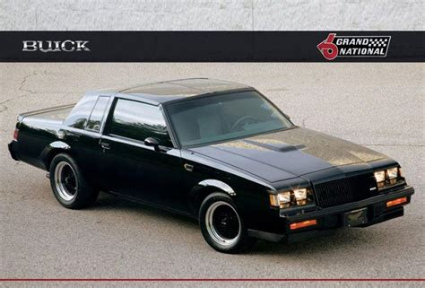 buick regal grand national buick regal gnx show car
