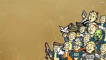 Fallout Wallpapers Shelter Vault Boy