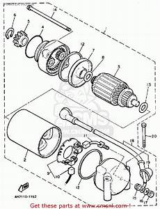 2wire Alternator Diagram Yamaha 750