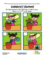 story sequencing images preschool reading book