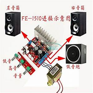 Tda2030a 2 1 Amplifier Board 18wx2 Dual Channel 3 Sound