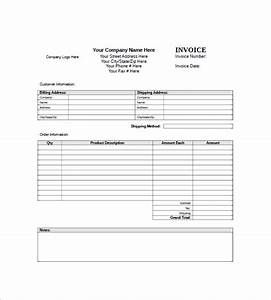 Generic invoice template it generic invoice template word for Generic invoice
