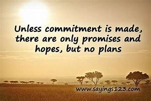 COMMITMENT QUOTES Image Quotes At